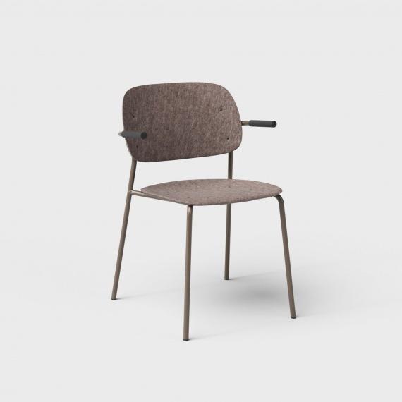 De Vorm De Vorm HALE Chair met armleggers