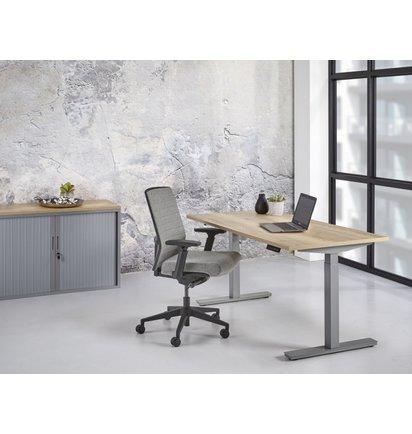 Multi Meubel TT02 BUDGET zit/sta werkplek (71,5 tot 117,5 cm.) - Elektrisch verstelbare bureaus