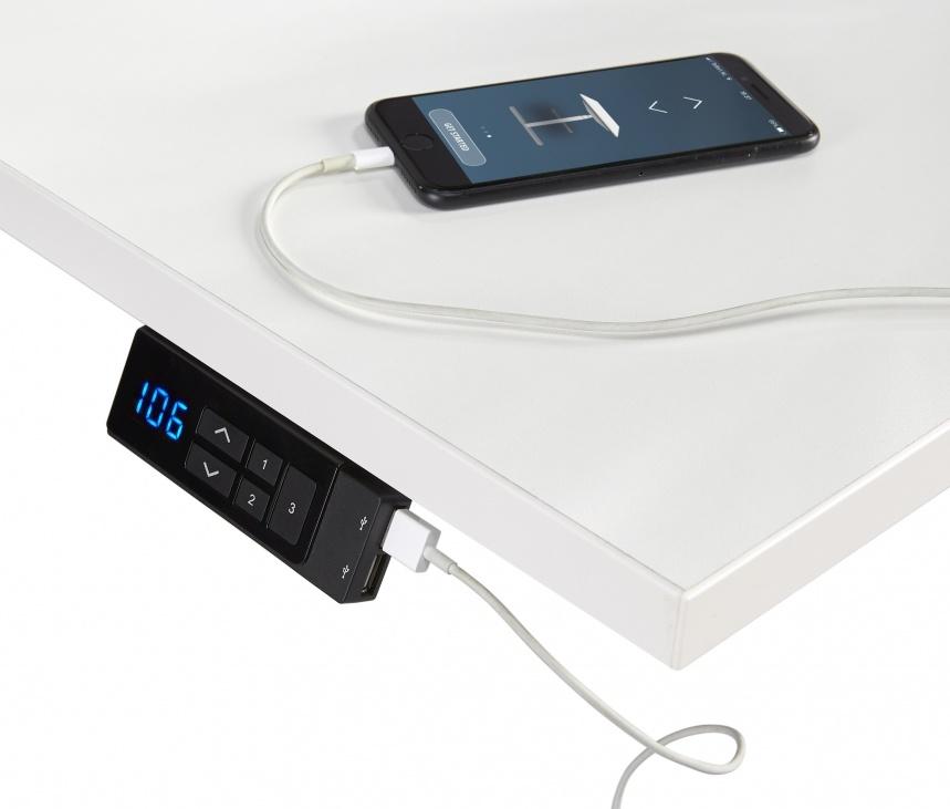 Multi Meubel TT03 Elektrische zit/sta werkplek (van 65 tot 130 cm.)