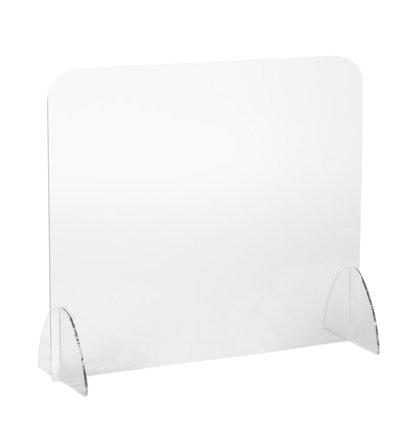 Multi Meubel Preventiescherm Plexiglas Vrijstaand op bureautafel - Ergonomische producten