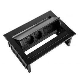Multi Meubel Power Desk In Huislijn 2x stroom + 2x USB charger - Inbouw stekkerdozen