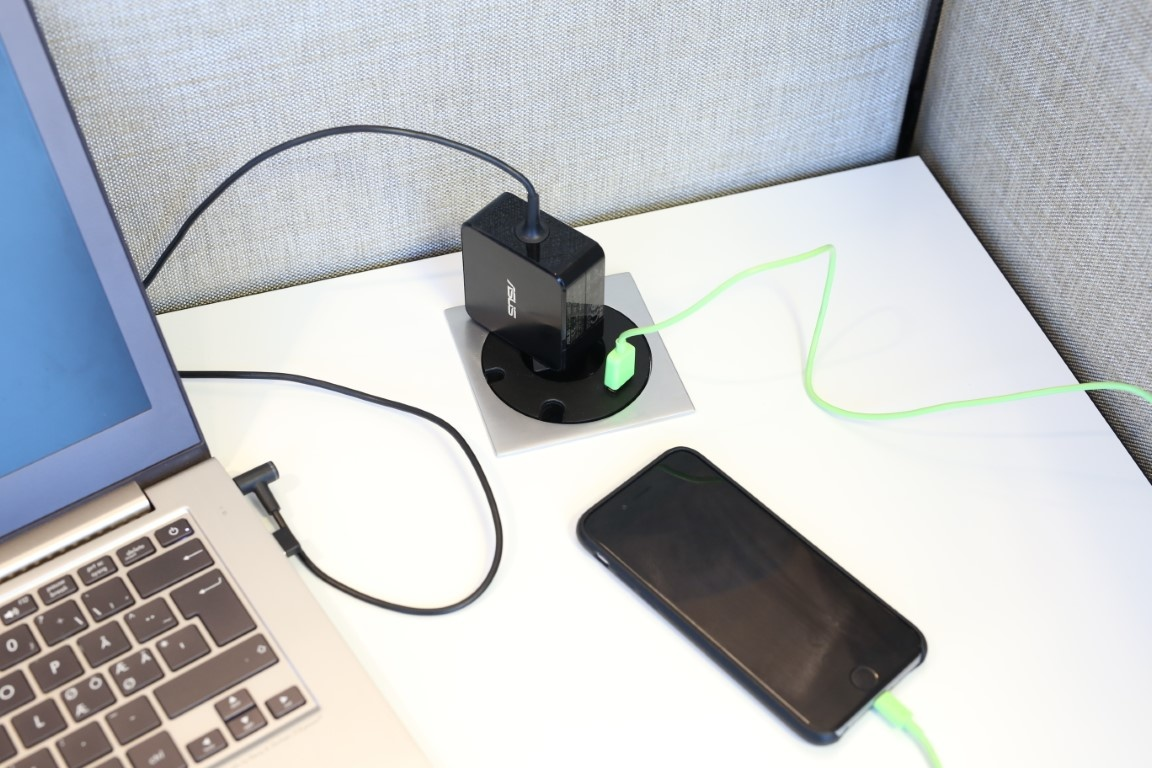 Götessons Power Grommet VIERKANT stopcontact