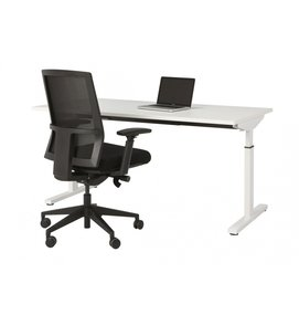HUISLIJN QUICK bureautafel thuiswerkplek 160x80 cm - QUICK bureau