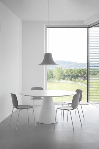 FP SC409 Kunststof tafelonderstel, hoogte 71 cm, voet Ø55 cm