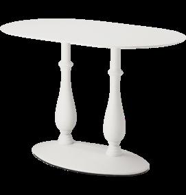 FP SC589 Klassiek tafelonderstel hoogte 73 cm, voet 76x46 cm - Coloured