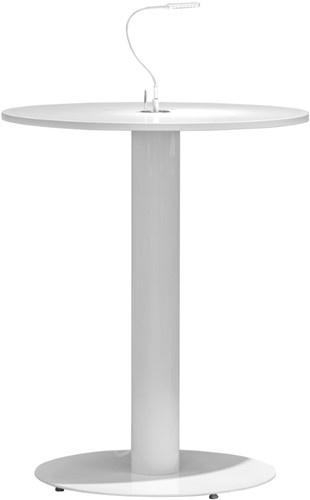 FP SC736 Sta-tafelonderstel met kabeldoorvoer, hoogte 107 cm