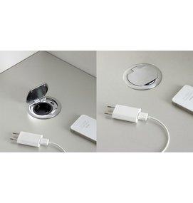 FP AC700 USB + Schuko data-/stroompot voor SC735 en SC736 -
