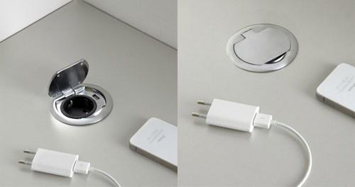 FP AC700 USB + Schuko data-/stroompot voor SC735 en SC736