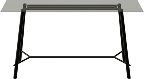 FP SC766 Sta-tafelonderstel, hoogte 107 cm