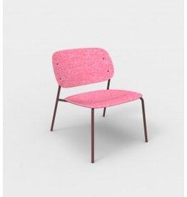 De Vorm De Vorm, HALE Lounge Chair zonder armleggers, gemaakt van gerecyclede PET-flessen