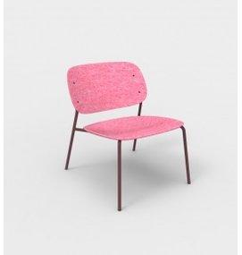 De Vorm De Vorm, HALE Lounge Chair zonder armleggers, gemaakt van gerecyclede PET-flessen - Loungestoelen