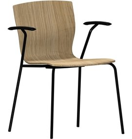 FP Butterfly Chair met armleggers - Wachtkamermeubelen