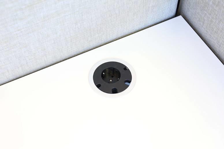 Götessons Power Circle stopcontact  INBOUW 1xP