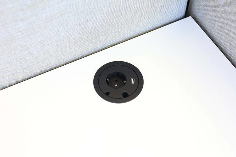 Götessons Power Circle stopcontact  + USB Charger