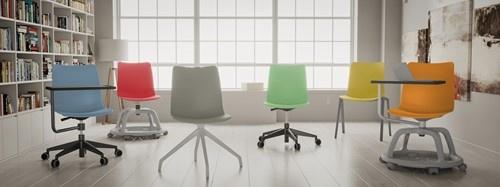 FP CELIS SP kunststof stoel met 4 teens frame