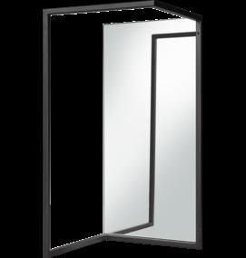 Van Esch Wandkapstok met spiegel FRAME S - Wandkapstokken