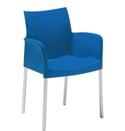 Pedrali ICE stoel MET armleggers - Kantinestoelen