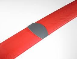 Multi Meubel Rubber vloergoot 300 lang x 15 breed Leverbaar in 4 kleuren