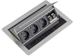 Inbouw Powerbox Flip Top 3P+2D