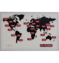 Multi Meubel Klok World Time 55 x 36 cm 480005.055036000.000