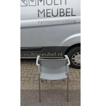 Multi Meubel Kerk- Zaalstoel A90 LICHTGRIJS