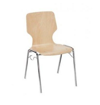 Prosedia by Interstuhl MEETING 2220 stapelstoel - Houten stoelen