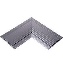 Multi Meubel Koppel hoekstuk Aluminium Vloergoot - Vloergoten