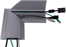 Multi Meubel Koppel hoekstuk Aluminium Vloergoot