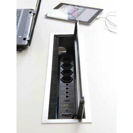BI-BOX Kabelbox small + powerinlay 2P1D1V1A1H
