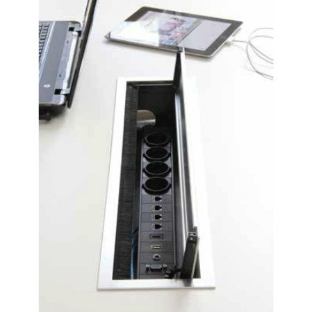 BI-BOX Kabelbox large + powerinlay 4P4D1V1A1H1U 423025.605150 + 423025.000005 BI-BOX Kabelbox large + powerinlay 5