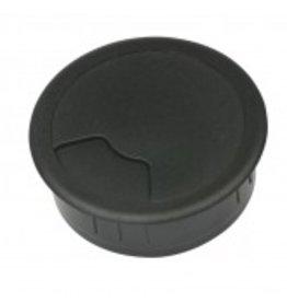 Multi Meubel Kabeldoorvoer 3 delig Ø 60 mm zwart 423001.060.000 Bureau kabeldoorvoer Ø 60 mm zwart