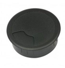 Multi Meubel Kabeldoorvoer 3 delig Ø 60 mm zwart 423001.060.000 Bureau kabeldoorvoer Ø 60 mm zwart - Collectie