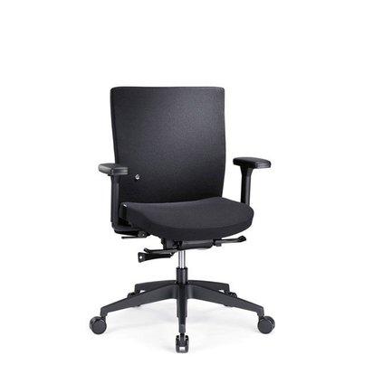 Interstuhl ATAROS 2 Bureaustoel 1A22 LAGE rug UITLOPEND - Bureaustoelen voor werkplekken