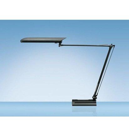 Bureaulamp Hansa met spaarlamp Ecolux zwart - Bureaulampen