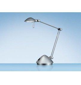 Bureaulamp Hansa halogeen Madrid zilver - Bureaulampen