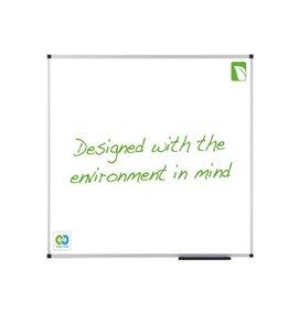 Multi Meubel Whiteboard Nobo Green 90x120cm magentisch emaille - Whiteborden en Prikborden