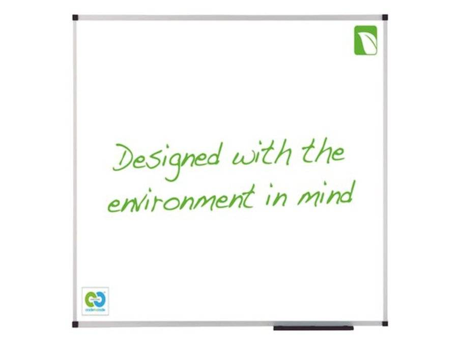 Multi Meubel Whiteboard Nobo Green 90x120cm magentisch emaille