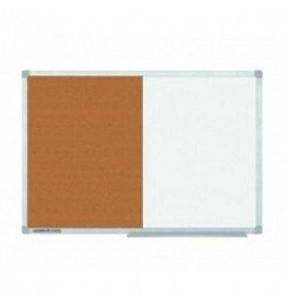 HUISLIJN Economy combiboard 90x120 cm 7-102454 Economy combiboard 90x120 cm - Whiteborden en Prikborden