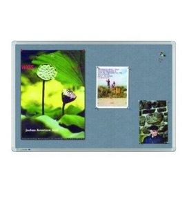 HUISLIJN Universal textielbord 7-141935 Universal grijs textielbord - Whiteborden en Prikborden