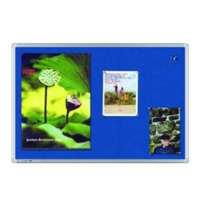HUISLIJN Universal textielbord 7-141835 Universal blauw textielbord - Whiteborden en Prikborden