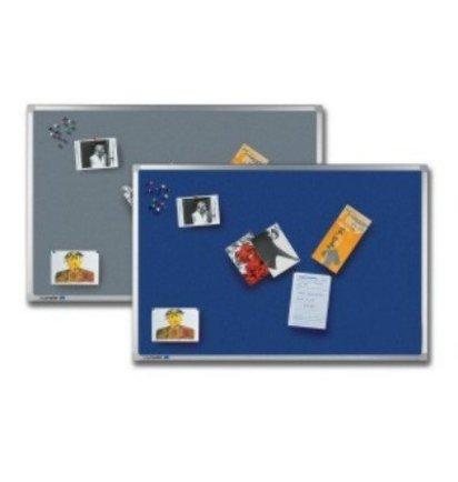 HUISLIJN Professional textielbord 7-140643 Professional grijs textielbord - Whiteborden en Prikborden