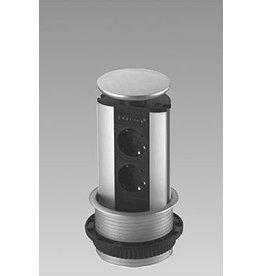 EVOLINE Evoline Verticale powerdock 2 x stroom 4730100.2P