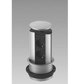 EVOLINE Evoline Verticale powerdock 2 x stroom 4730100.2P - EVOLINE
