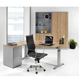 HUISLIJN LOOK Hoekbureau 160/80x120/60 cm HOEK LINKS - LOOK bureaus