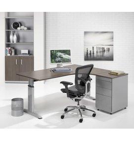 HUISLIJN LOOK Hoekbureau 160/80x120/60 cm HOEK RECHTS - LOOK bureaus