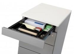 HUISLIJN Ladenblok bureauhoogte 4 laden en topblad