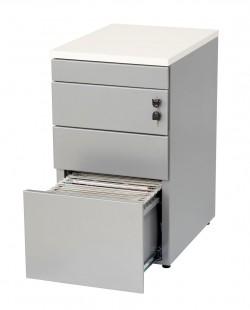 HUISLIJN Ladenblok bureauhoogte 3 laden en topblad
