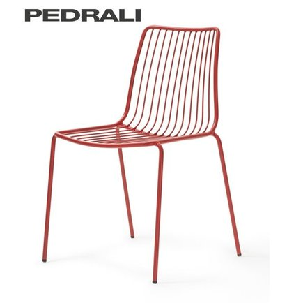Pedrali Pedrali NOLITA 3651 HOGE RUG - Terrasstoelen