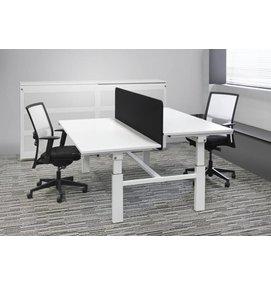 Multi Meubel DUO bench 2x 160x80 - In hoogte verstelbaar bureau met slinger