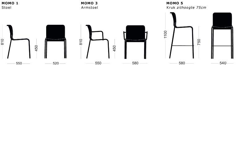 COLOS MOMO1 Chair van COLOS